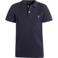 GANT Koszulka polo evening blue. Niebieskie bluzki dziewczęce bawełniane GANT. Za 229,00 zł.