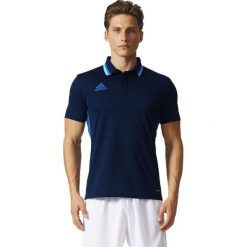 Koszulki sportowe męskie: Adidas Koszulka Condivo 16 Polo granatowy r. S