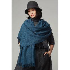 Szaliki damskie: Szal w kolorze niebieskim - (D)192 x (S)70 cm