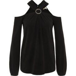 MICHAEL Michael Kors ELEV Bluzka z długim rękawem black. Czarne bluzki longsleeves MICHAEL Michael Kors, s, z elastanu. W wyprzedaży za 480,35 zł.