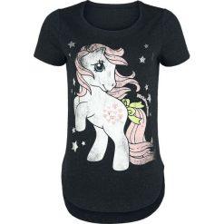 Bluzki asymetryczne: My Little Pony Stars Koszulka damska odcienie czarnego