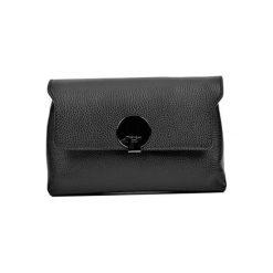 Torebka w kolorze czarnym - (S)23,5 x (W)16,5 x (G)8,5 cm. Czarne torebki klasyczne damskie Bestsellers bags, w paski, z materiału. W wyprzedaży za 239,95 zł.