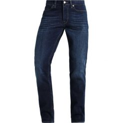 Only & Sons ONSWEAVE Jeansy Slim Fit dark blue denim. Brązowe jeansy męskie marki Only & Sons, l, z poliesteru. Za 169,00 zł.