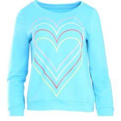 Jasnoniebieska Bluza Just Flexing. Niebieskie bluzy damskie Born2be, l. Za 24,99 zł.