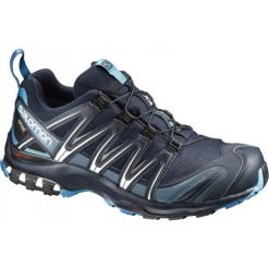 Buty trekkingowe męskie: Salomon Buty Trekkingowe Xa Pro 3d Gtx Navy Blaze/Hawaiian O/Dawn Blue 42.7