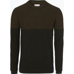 Minimum - Sweter męski – Pelle 2.0, zielony. Szare swetry klasyczne męskie marki TOMMY HILFIGER, l, z bawełny, z okrągłym kołnierzem. Za 299,95 zł.