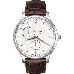 PROMOCJA ZEGAREK TISSOT T-CLASSIC T063.639.16.037.00. Szare zegarki męskie TISSOT, ze stali. W wyprzedaży za 1478,40 zł.