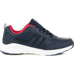 Sznurowane obuwie NEVADA. Niebieskie buty sportowe męskie AX BOXING, na sznurówki. Za 109,00 zł.