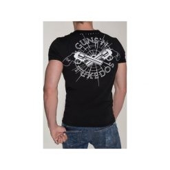T-SHIRT GUN 2. Szare t-shirty męskie marki Button. Za 219,00 zł.
