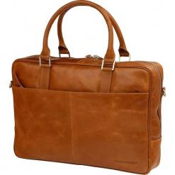 """Torba Torba skórzana na laptopa Leather business bag Rosenborg up to 14"""", Jasnobrązowa - BG14GT000425. Pomarańczowe torby na laptopa marki NoName. Za 902,18 zł."""