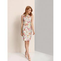 Sukienki: SUKIENKA DAMSKA W KWIATY