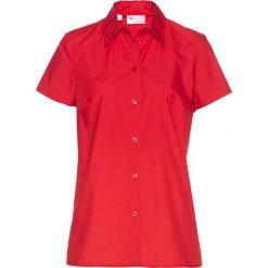 Bluzki damskie: Bluzka z krótkim rękawem bonprix truskawkowy