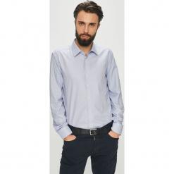Joop! - Koszula. Szare koszule męskie na spinki marki S.Oliver, l, z bawełny, z włoskim kołnierzykiem, z długim rękawem. W wyprzedaży za 279,90 zł.