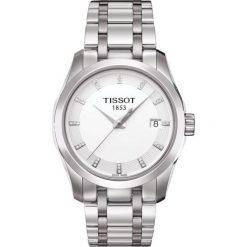 RABAT ZEGAREK TISSOT T-Trend T035.210.11.016.00. Białe zegarki damskie TISSOT, ze stali. W wyprzedaży za 1931,60 zł.