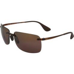 RayBan Okulary przeciwsłoneczne brown. Szare okulary przeciwsłoneczne męskie wayfarery marki Ray-Ban, z materiału. Za 699,00 zł.
