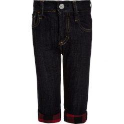 GAP LINED STR8 Jeansy Straight Leg dark wash indigo. Niebieskie jeansy męskie regular GAP, z bawełny. W wyprzedaży za 126,75 zł.