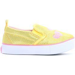 Buty sportowe dziewczęce: Żółte Tenisówki Gentle Touch