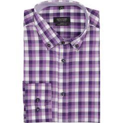 Koszula bexley 2182 długi rękaw custom fit fiolet. Fioletowe koszule męskie marki Reserved, l, z bawełny. Za 29,99 zł.