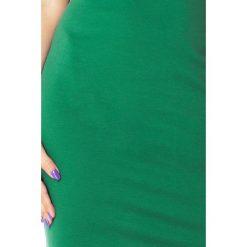 Gabriella Sukienka z dziubkiem - ZIELONA. Zielone sukienki na komunię numoco, s, z materiału. Za 138,99 zł.
