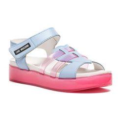 Sandały damskie: Sandały w kolorze jasnoniebieskim