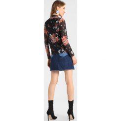 Bluzki asymetryczne: YAS YASNUR Bluzka z długim rękawem black/orange