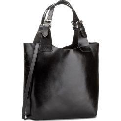 Torebka CREOLE - RBI117 Czarny. Czarne torebki klasyczne damskie Creole, ze skóry. W wyprzedaży za 299,00 zł.