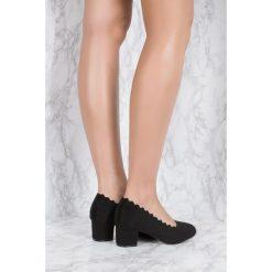 Czółenka: NA-KD Shoes Czółenka z wycinanymi brzegami - Black