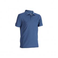 Koszulka polo do golfa 900 męska. Czarne koszulki polo marki GALVANNI, m, w kolorowe wzory, z bawełny. Za 39,99 zł.