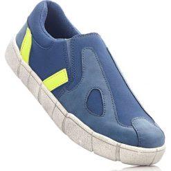 Buty wsuwane bonprix niebieski dżins. Szare buty sportowe damskie marki bonprix, z materiału. Za 49,99 zł.