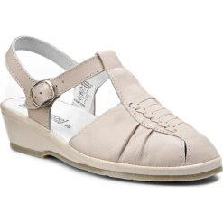 Rzymianki damskie: Sandały COMFORTABEL – 710704 Beige 8