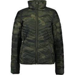 Bomberki damskie: Abercrombie & Fitch PACKABLE PUFFER  Kurtka puchowa olive
