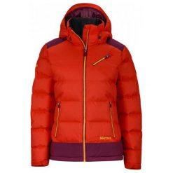 Marmot Wm's Sling Shot Jacket Poppy/Magenta S. Czerwone kurtki damskie softshell Marmot, s, z puchu. W wyprzedaży za 949,00 zł.