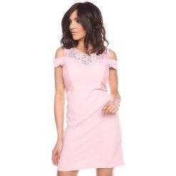 """Sukienki hiszpanki: Sukienka """"Shir"""" w kolorze jasnoróżowym"""