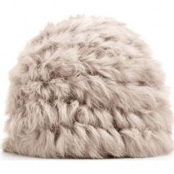 Czapka damska 87-HF-035-8. Brązowe czapki zimowe damskie marki Wittchen, na zimę, z futra. Za 279,00 zł.