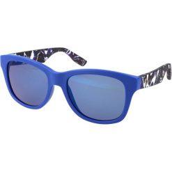 """Okulary przeciwsłoneczne damskie aviatory: Okulary przeciwsłoneczne """"0002/S XJM/XT"""" w kolorze niebieskim"""