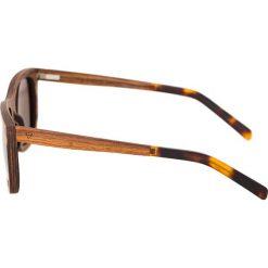 Kerbholz JUSTUS Okulary przeciwsłoneczne zebrano/solid brown. Brązowe okulary przeciwsłoneczne damskie marki Kerbholz. Za 529,00 zł.