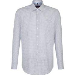 Koszule męskie na spinki: Koszula – Modern fit – w kolorze granatowo-białym