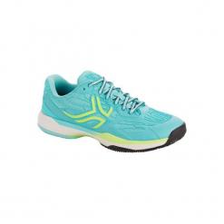 Buty tenisowe TS990 Clay damskie na mączkę ceglaną. Niebieskie buty do tenisu damskie ARTENGO, z gumy. Za 199,99 zł.