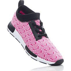 Buty sportowe bonprix różowy melanż. Czerwone buty sportowe męskie bonprix, na sznurówki. Za 49,99 zł.