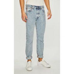 Levi's - Jeansy 501. Brązowe jeansy męskie z dziurami Levi's®. Za 499,90 zł.
