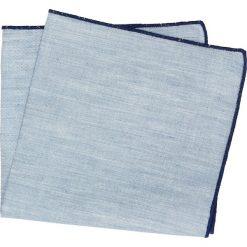 Poszetki męskie: poszetka special niebieski 231