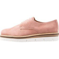 Jazzówki damskie: Bianco LACE SHOE Oksfordki light pink