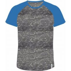 AQUAWAVE Koszulka męska BAMA light grey melange/campanula r. XXL. Szare koszulki sportowe męskie AQUAWAVE, m. Za 47,12 zł.