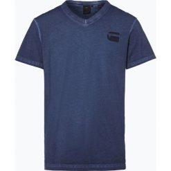 G-Star - T-shirt męski – Doax, niebieski. Niebieskie t-shirty męskie marki G-Star, m, z bawełny. Za 129,95 zł.
