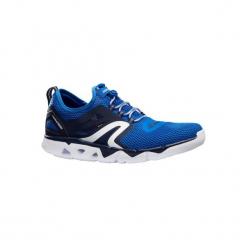 Buty męskie do szybkiego marszu PW 500 Fresh w kolorze niebieskim. Niebieskie buty fitness męskie marki NEWFEEL, z poliesteru. Za 129,99 zł.
