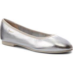 Baleriny GANT - Molly 16511516 Silver G80. Szare baleriny damskie marki GANT, z materiału. W wyprzedaży za 229,00 zł.