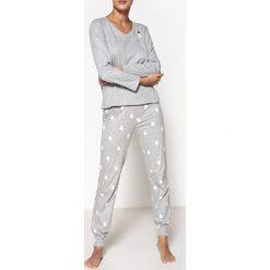 Piżamy damskie: Piżama z nadrukiem w gwiazdki