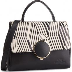 Torebka WITTCHEN - 87-4E-229-1 Czarny. Czarne torebki klasyczne damskie marki Wittchen, ze skóry. W wyprzedaży za 459,00 zł.