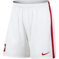 Bermudy męskie: Nike Spodenki męskie Poland Home/Away Stadium bało-czerwone r. M (24631-100)