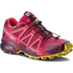 Buty SALOMON - Speedcross 4 Gtx GORE-TEX 404666 22 G0 Beet Red/Poten. Czerwone buty sportowe damskie Salomon, z gore-texu, do biegania, salomon speedcross. W wyprzedaży za 559,00 zł.